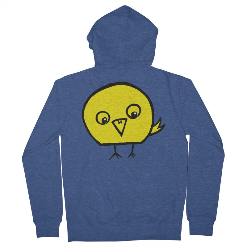 Little Chick Men's French Terry Zip-Up Hoody by Cowboy Goods Artist Shop