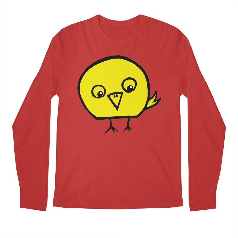 Little Chick Men's Regular Longsleeve T-Shirt by Cowboy Goods Artist Shop