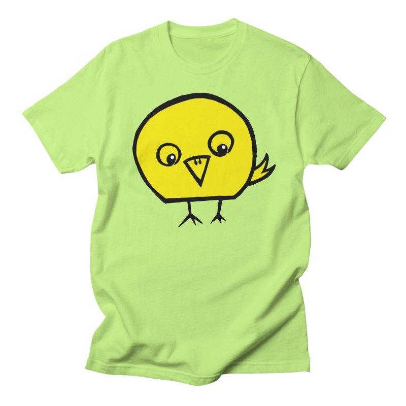 Little Chick Men's Regular T-Shirt by Cowboy Goods Artist Shop