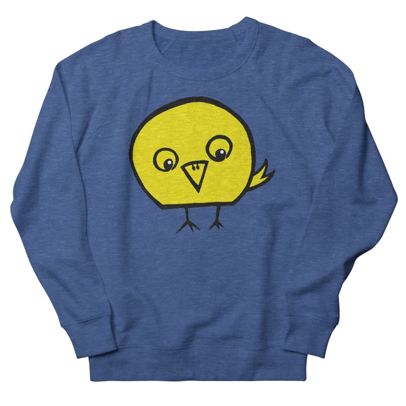 Little Chick Women's French Terry Sweatshirt by Cowboy Goods Artist Shop