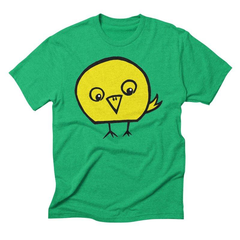 Little Chick Men's Triblend T-Shirt by Cowboy Goods Artist Shop