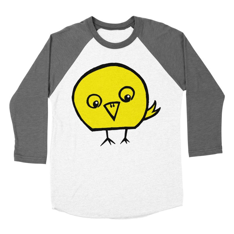 Little Chick Men's Baseball Triblend Longsleeve T-Shirt by Cowboy Goods Artist Shop