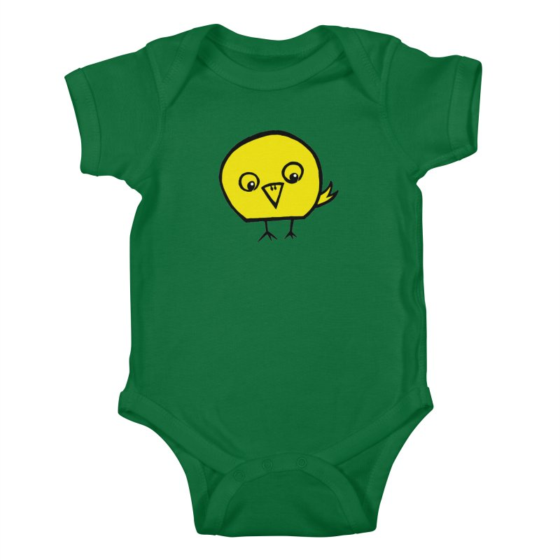 Little Chick Kids Baby Bodysuit by Cowboy Goods Artist Shop