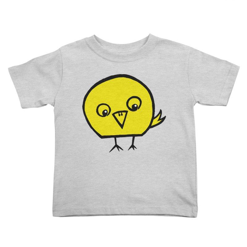 Little Chick Kids Toddler T-Shirt by Cowboy Goods Artist Shop