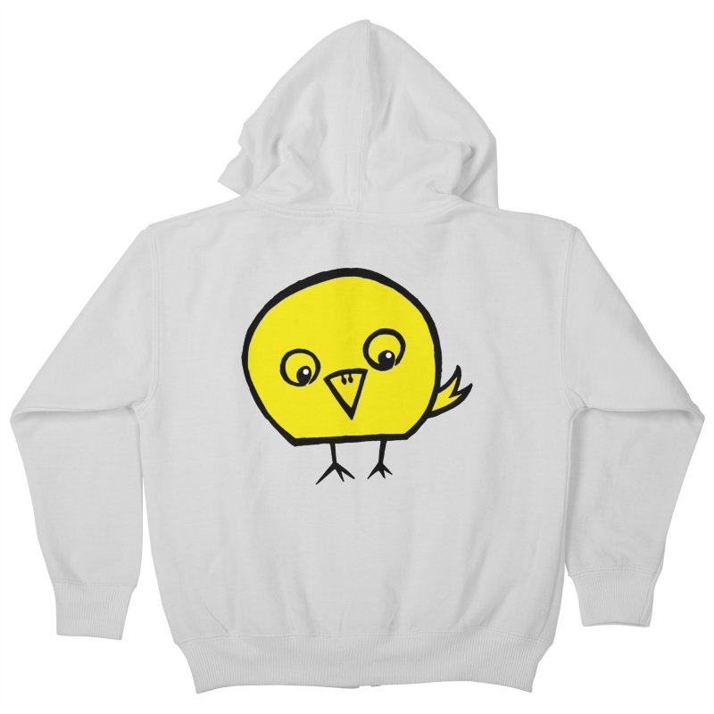 Little Chick Kids Zip-Up Hoody by Cowboy Goods Artist Shop
