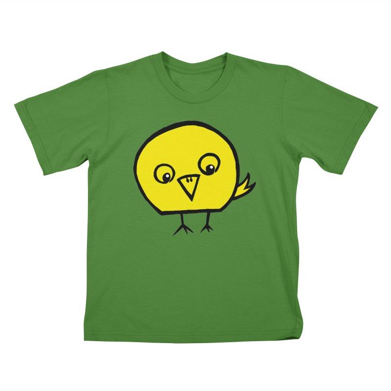 Little Chick Kids T-Shirt by Cowboy Goods Artist Shop