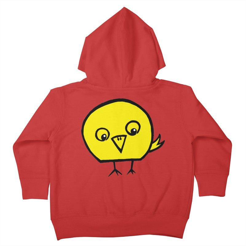 Little Chick Kids Toddler Zip-Up Hoody by Cowboy Goods Artist Shop