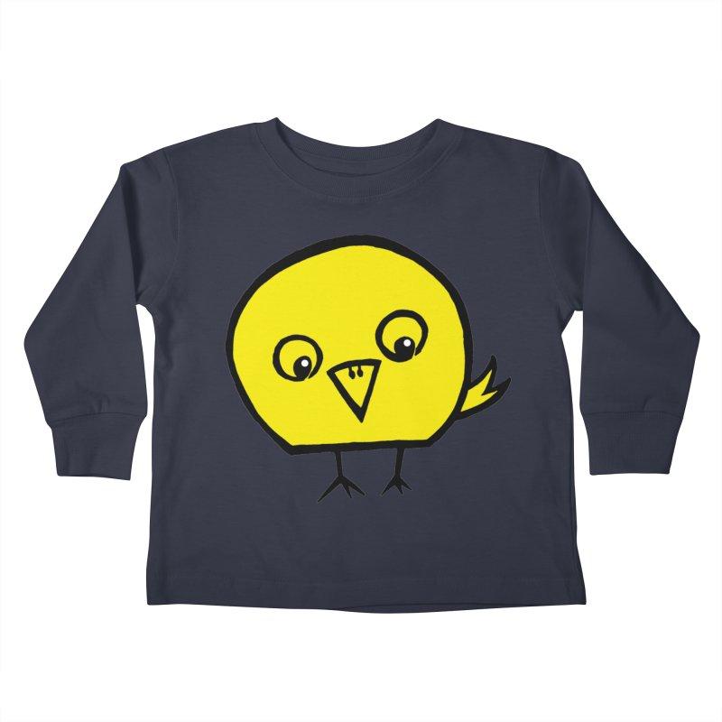 Little Chick Kids Toddler Longsleeve T-Shirt by Cowboy Goods Artist Shop