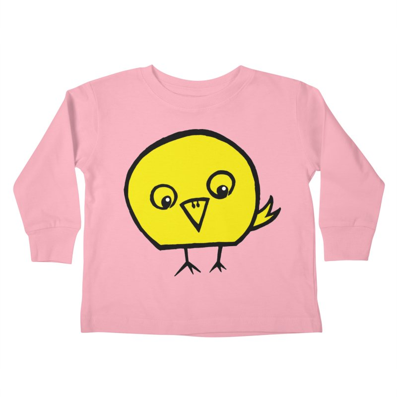 Little Chick Kids Toddler Longsleeve T-Shirt by Cowboy Goods Artist Shop