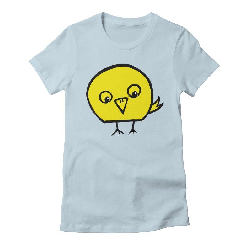 Little Chick Women's T-Shirt by Cowboy Goods Artist Shop
