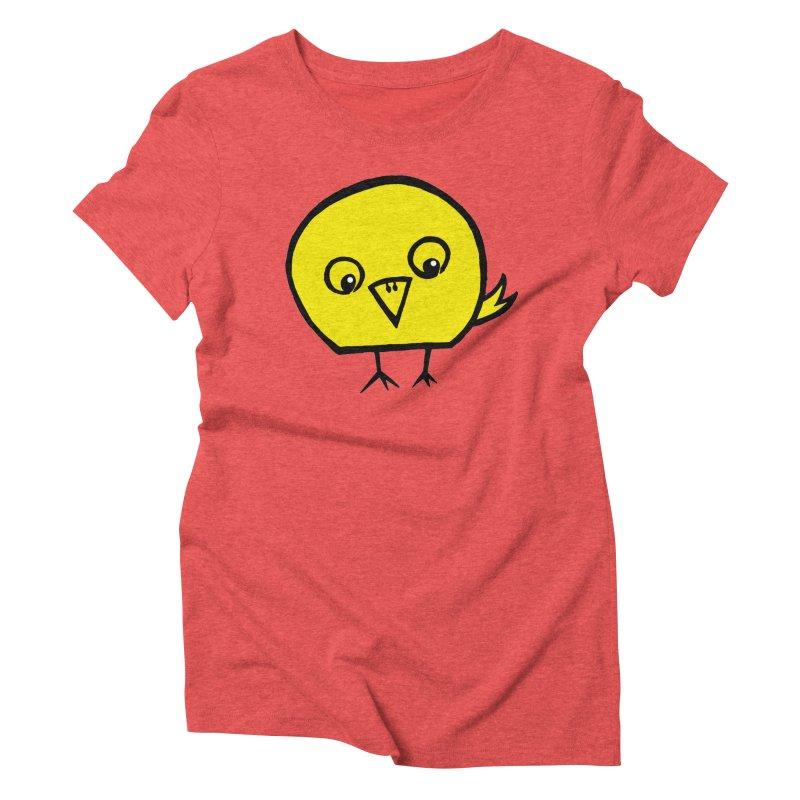 Little Chick Women's Triblend T-shirt by Cowboy Goods Artist Shop