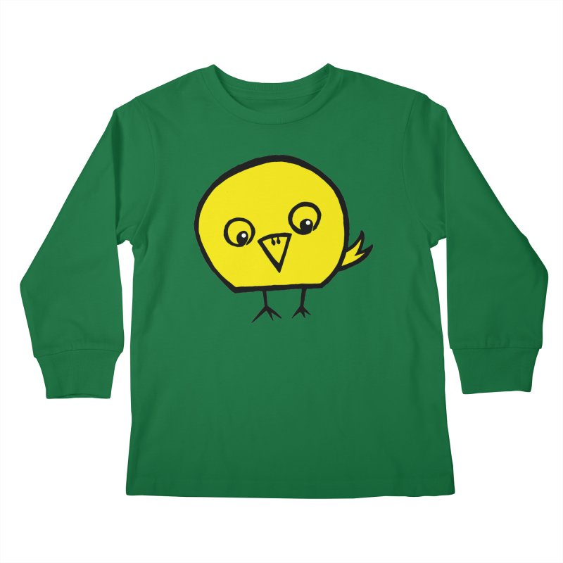 Little Chick Kids Longsleeve T-Shirt by Cowboy Goods Artist Shop
