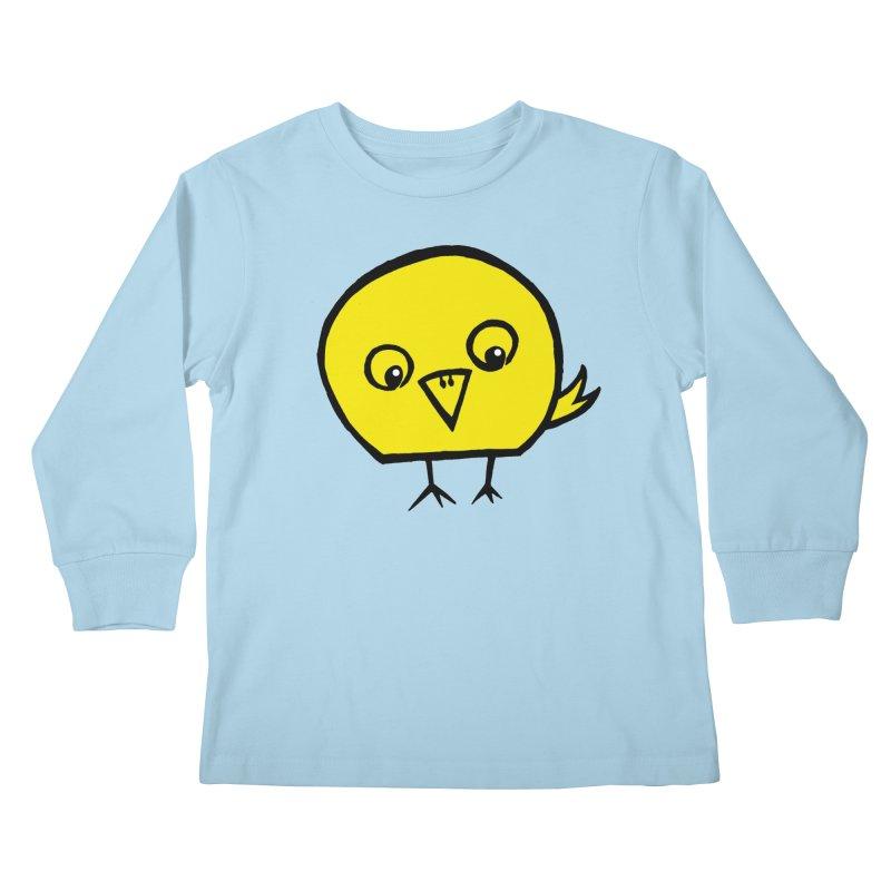 Little Chick Kids Longsleeve T-Shirt by Cowboy Goods Artist Shop