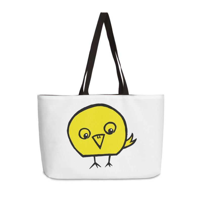 Little Chick Accessories Weekender Bag Bag by Cowboy Goods Artist Shop