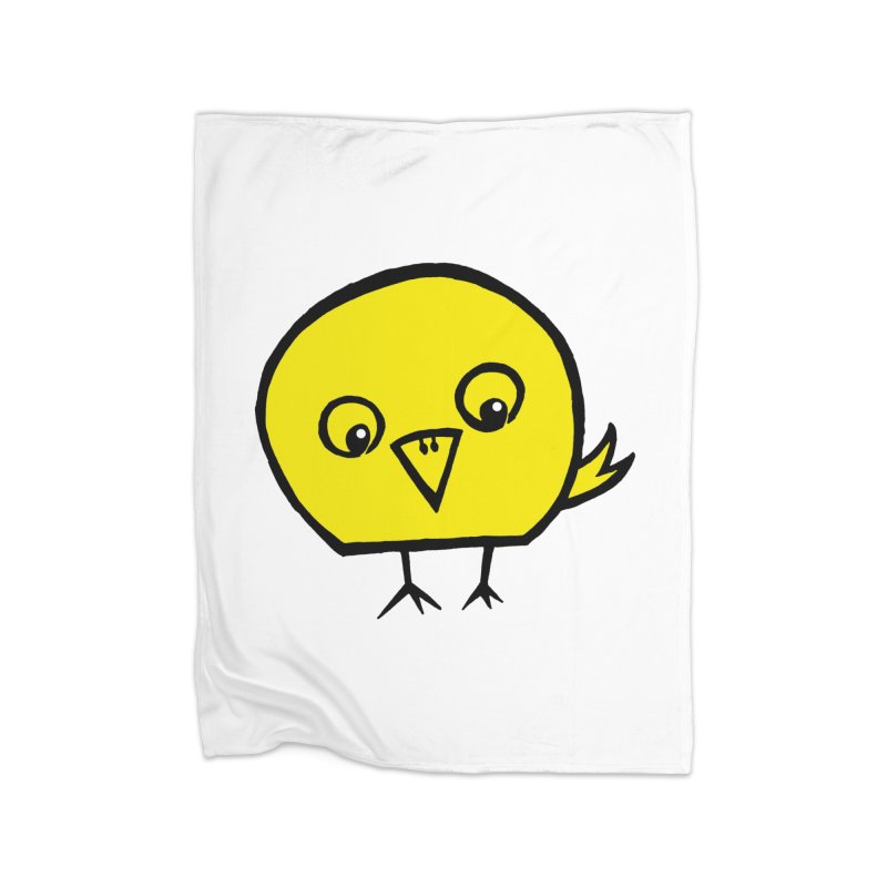 Little Chick Home Blanket by Cowboy Goods Artist Shop
