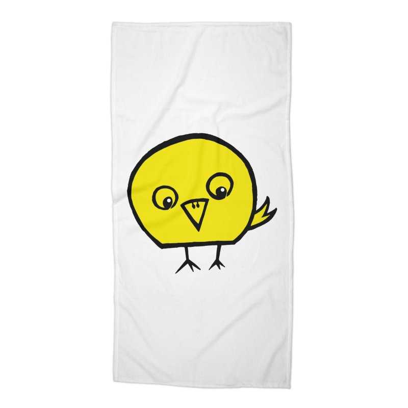 Little Chick Accessories Beach Towel by Cowboy Goods Artist Shop