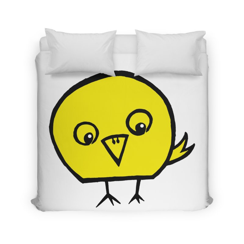 Little Chick Home Duvet by Cowboy Goods Artist Shop