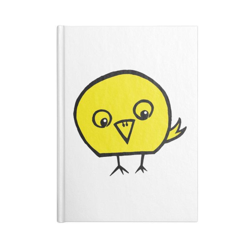 Little Chick Accessories Lined Journal Notebook by Cowboy Goods Artist Shop