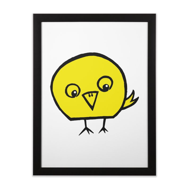 Little Chick Home Framed Fine Art Print by Cowboy Goods Artist Shop