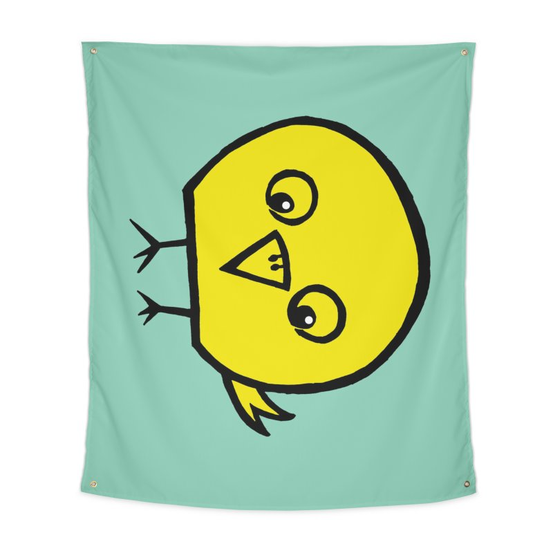 Little Chick Home Tapestry by Cowboy Goods Artist Shop