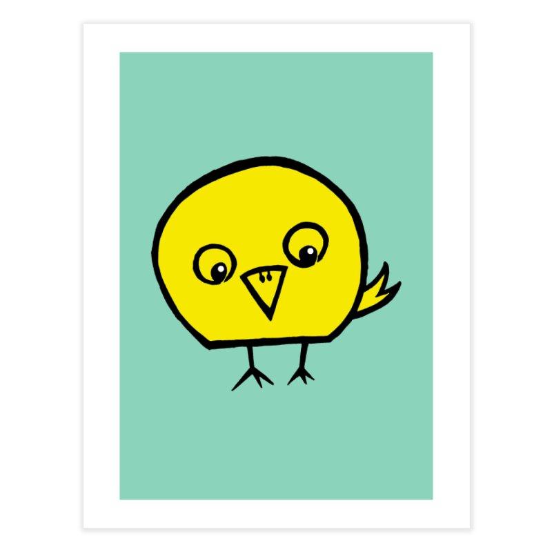 Little Chick Home Fine Art Print by Cowboy Goods Artist Shop