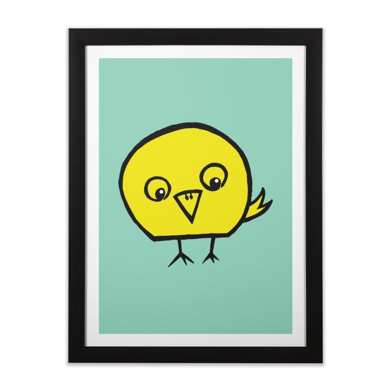Little Chick Home Framed Fine Art Print by Cowboy Goods Artist Shop