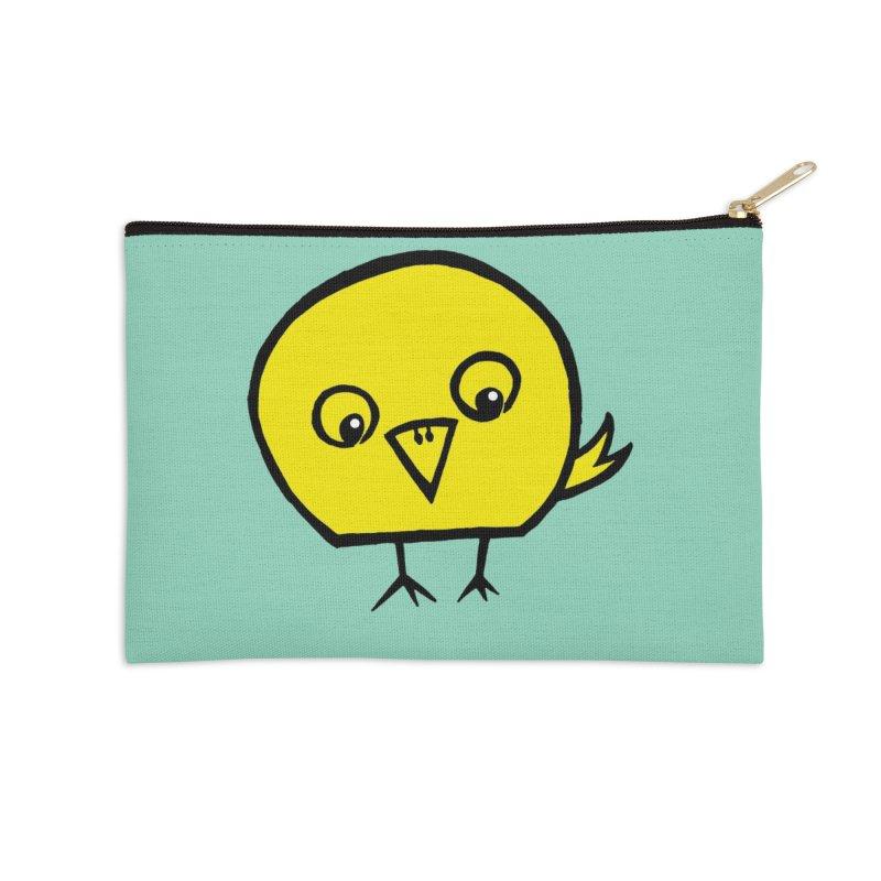 Little Chick Accessories Zip Pouch by Cowboy Goods Artist Shop