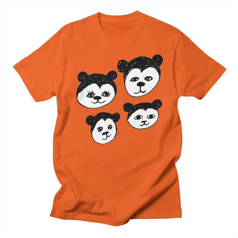 Panda Heads Men's  by Cowboy Goods Artist Shop