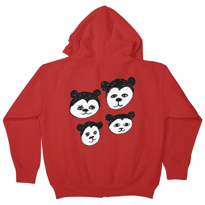 Panda Heads   by Cowboy Goods Artist Shop