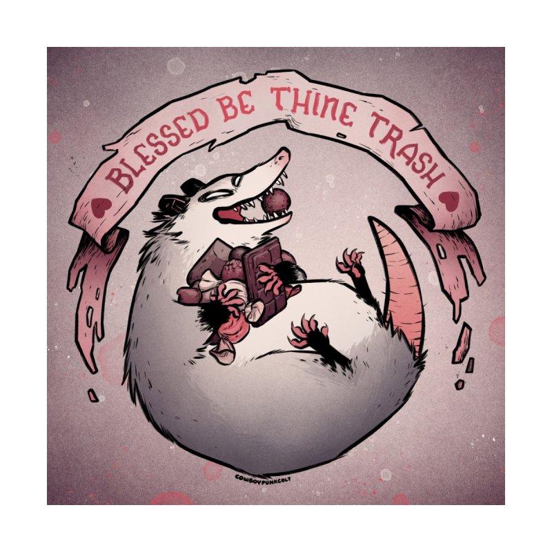 St. Chocoton's Blessing Men's T-Shirt by cowboypunk's dang doodle dump