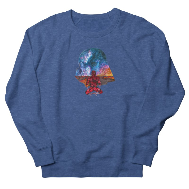 Conflict Men's Sweatshirt by Christopher Walter's Artist Shop