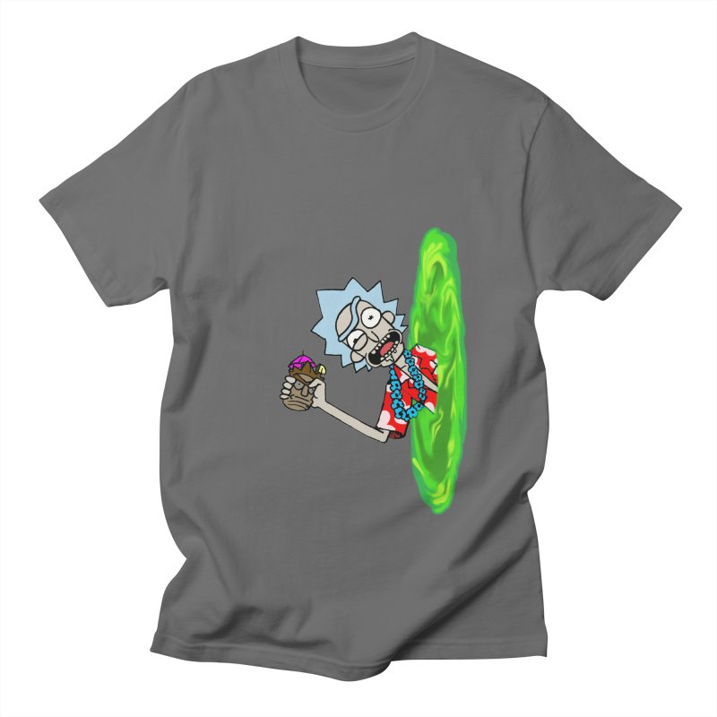 Tiki Rick Men's T-Shirt by Christopher Walter's Artist Shop