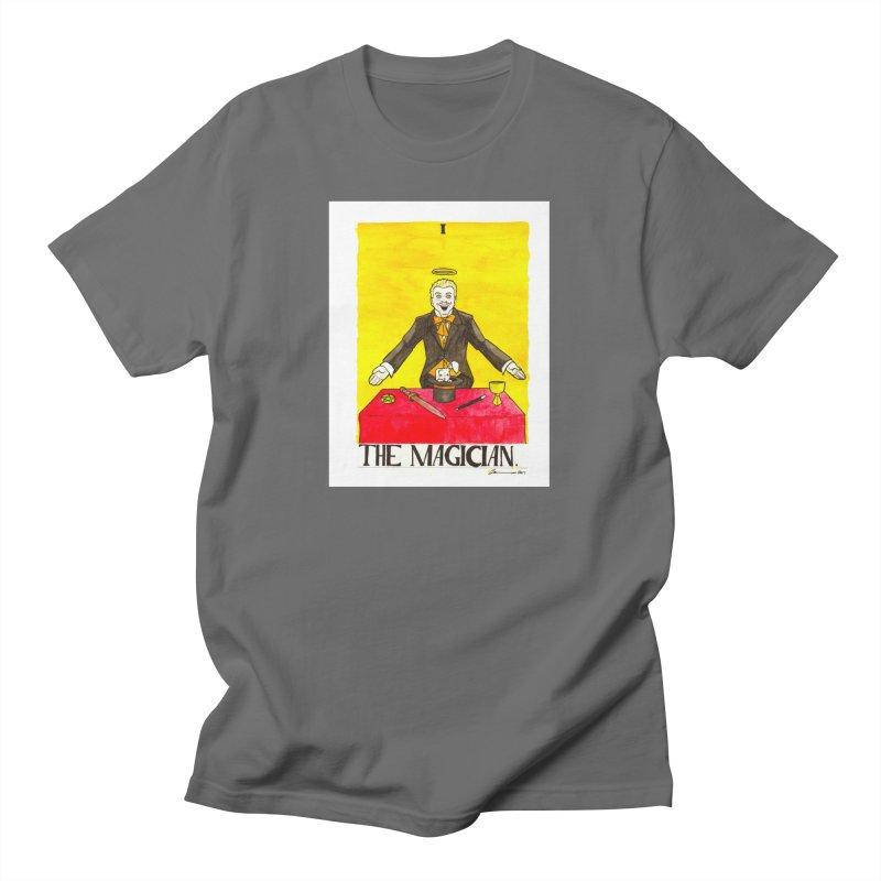 The Magician Men's T-Shirt by Christopher Walter's Artist Shop