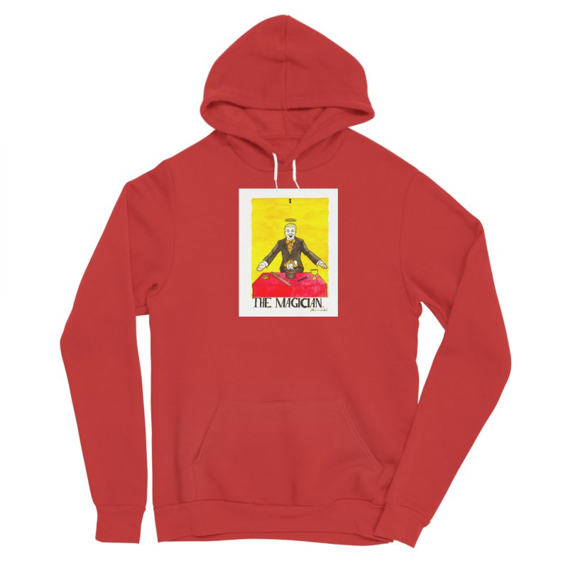The Magician Men's Pullover Hoody by Christopher Walter's Artist Shop