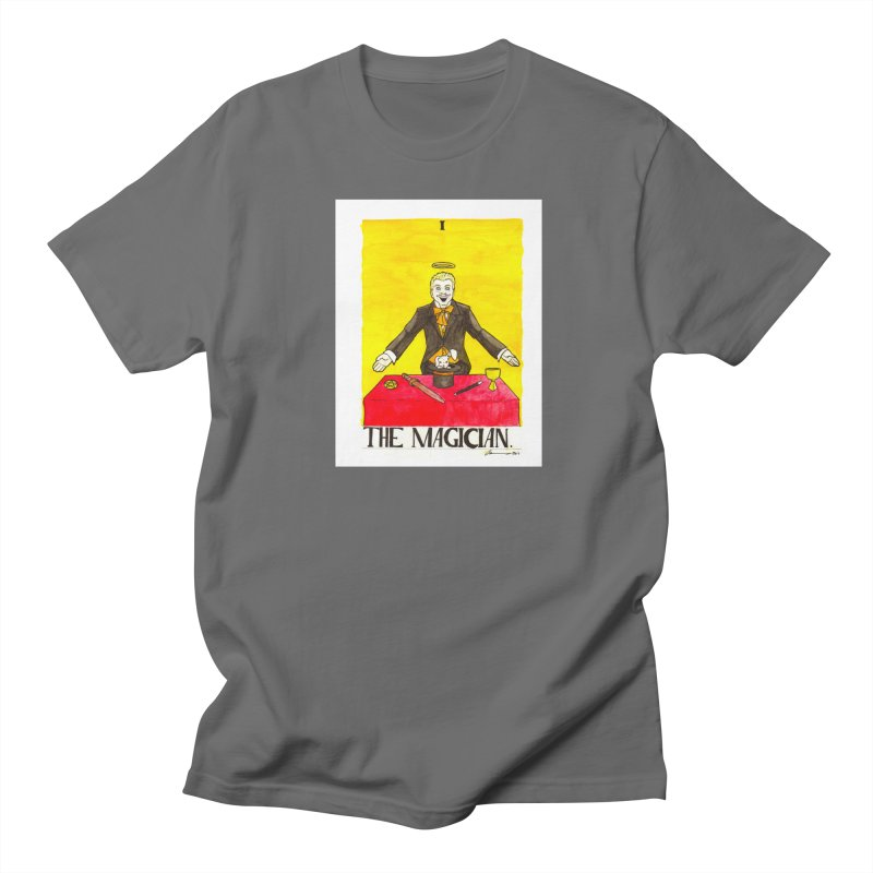 The Magician Men's T-Shirt by Christopher Walter's Artist Shop