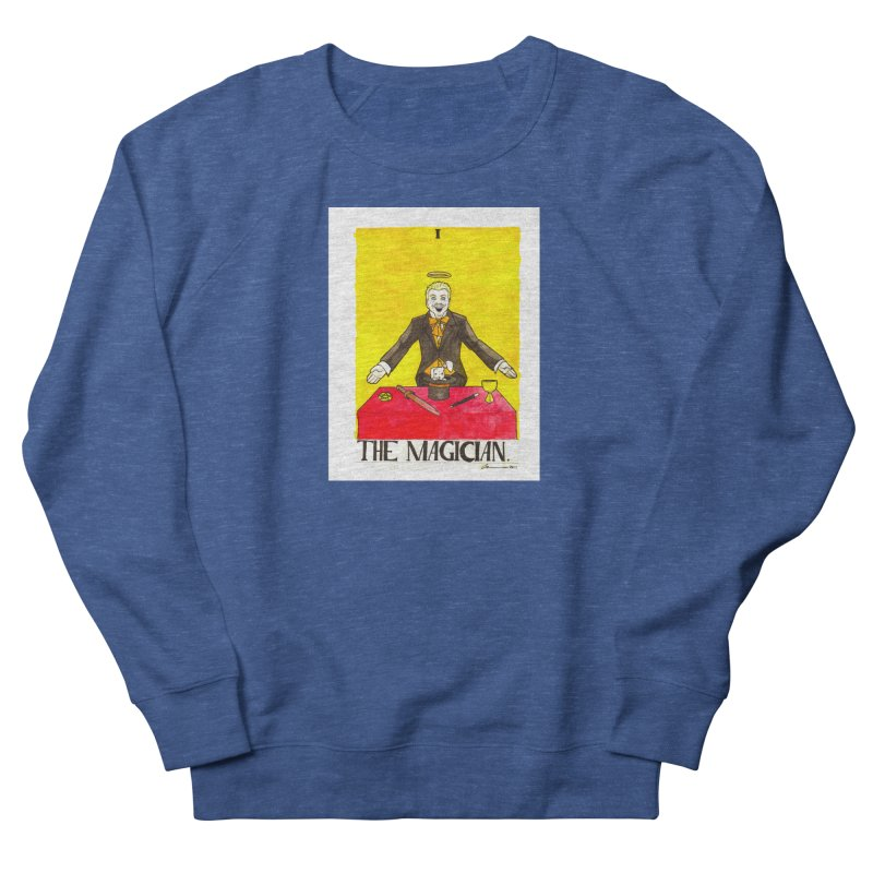 The Magician Men's Sweatshirt by Christopher Walter's Artist Shop