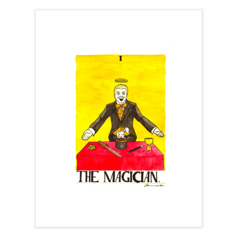 The Magician Home Fine Art Print by Christopher Walter's Artist Shop