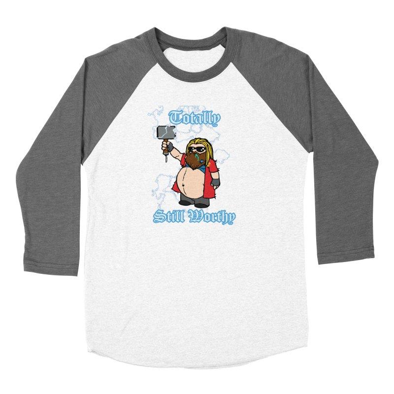 Totally Still Worthy Women's Longsleeve T-Shirt by Christopher Walter's Artist Shop