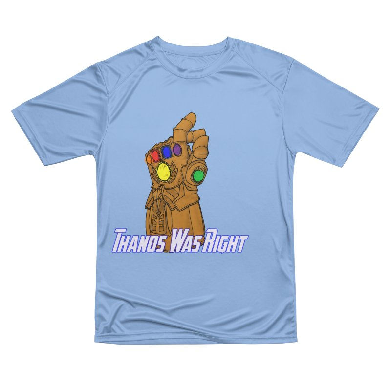 Thanos Was Right Women's T-Shirt by Christopher Walter's Artist Shop