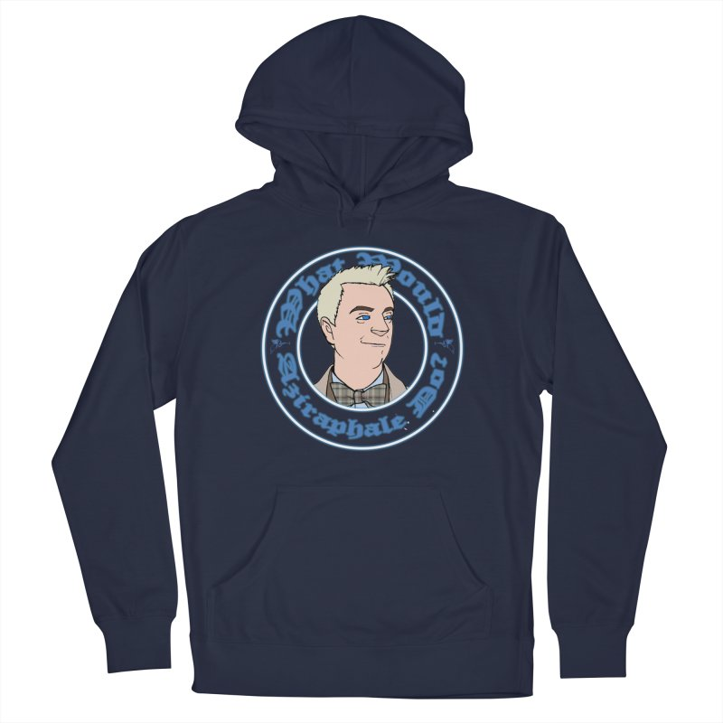 What Would Aziraphale Do? Men's Pullover Hoody by Christopher Walter's Artist Shop