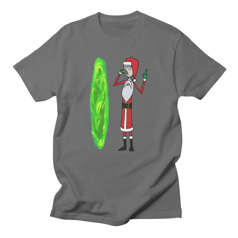 How the Rick Stole Christmas Men's T-Shirt by Christopher Walter's Artist Shop