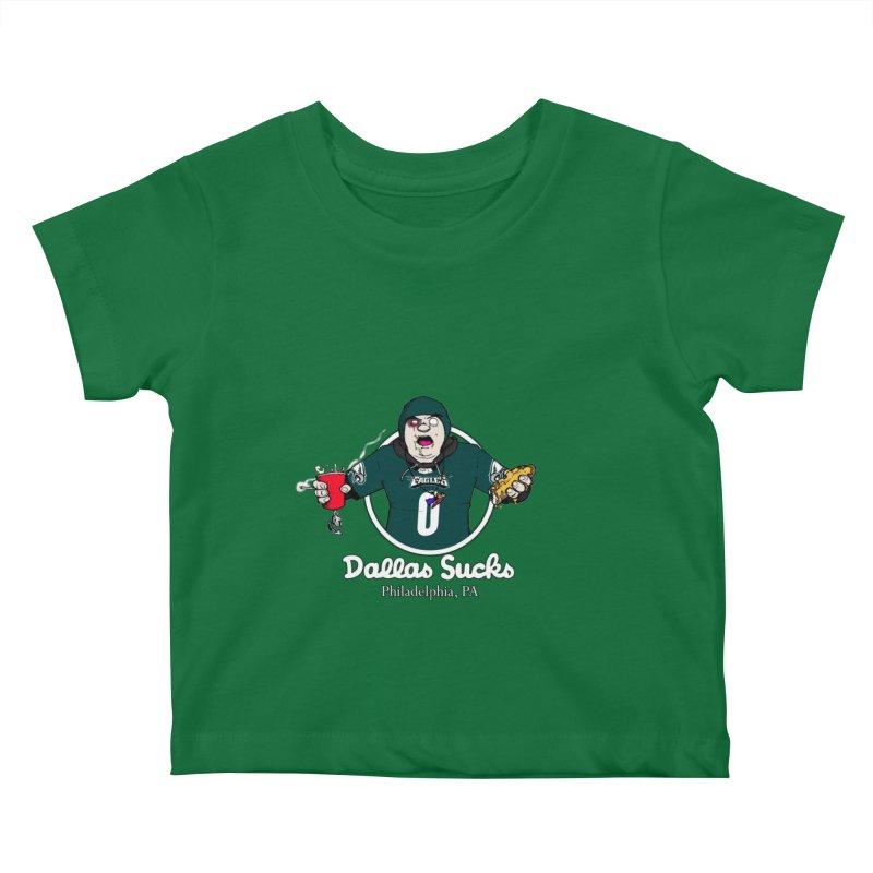 Dallas Sucks Kids Baby T-Shirt by Christopher Walter's Artist Shop