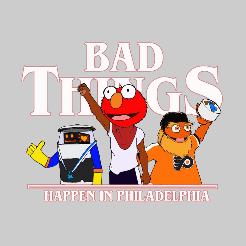 Bad Things Happen in Philadelphia Men's T-Shirt by Christopher Walter's Artist Shop