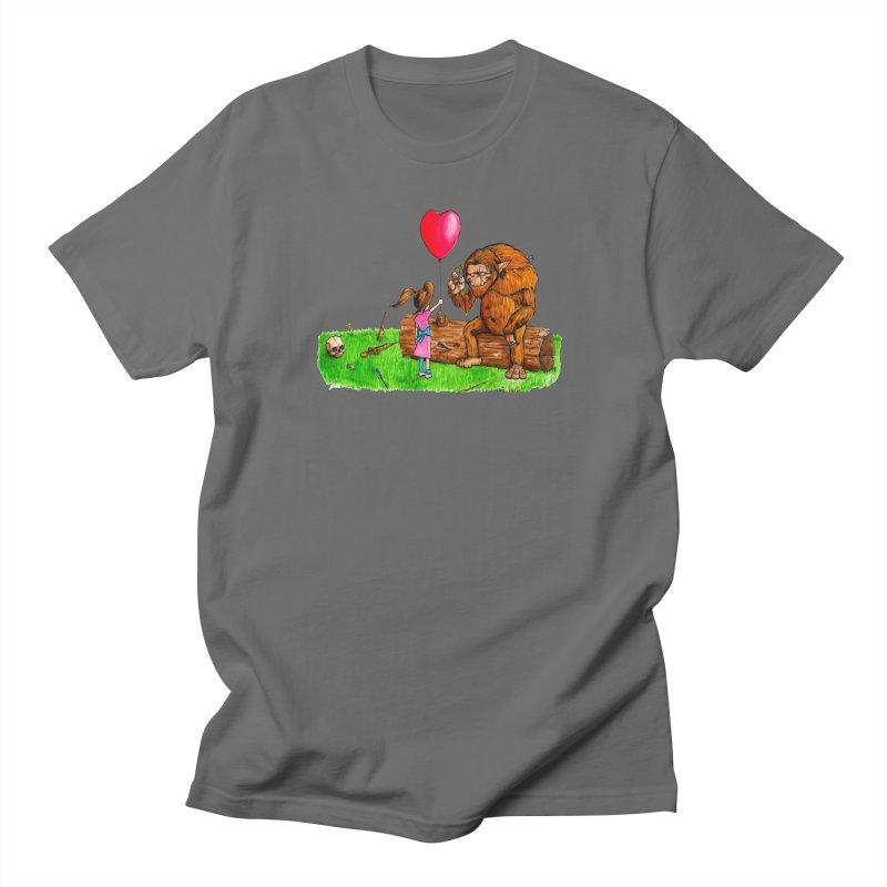 Wolfgang's New Friend Men's T-Shirt by Christopher Walter's Artist Shop