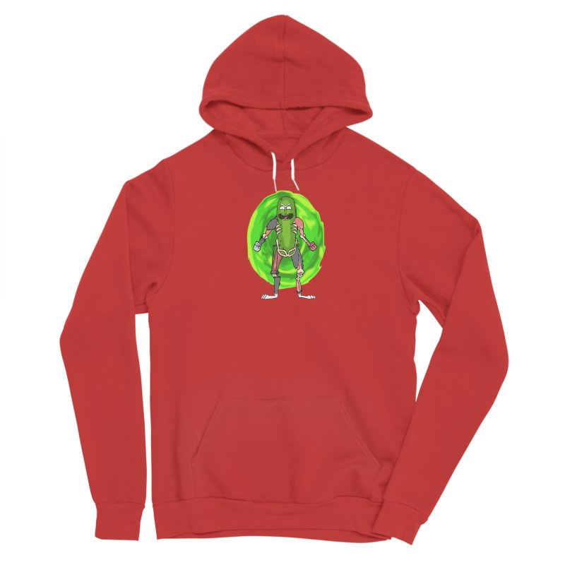 Pickle Rick Men's Pullover Hoody by Christopher Walter's Artist Shop