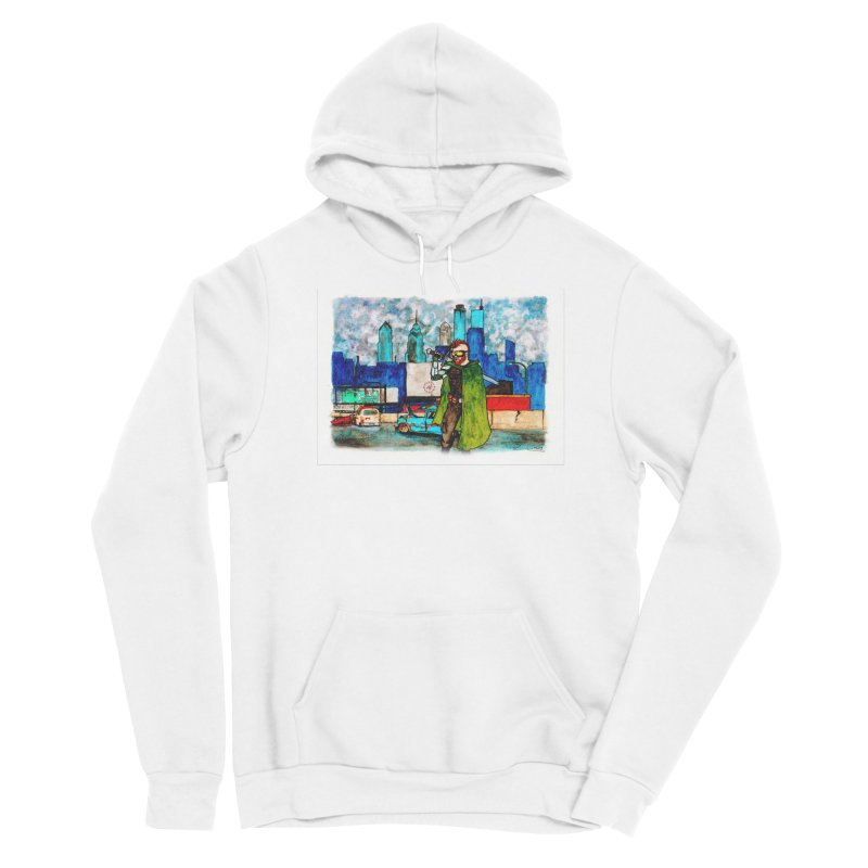 Out for a Stroll Men's Pullover Hoody by Christopher Walter's Artist Shop