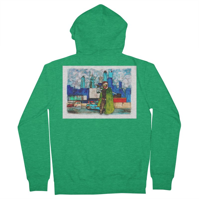 Out for a Stroll Men's Zip-Up Hoody by Christopher Walter's Artist Shop