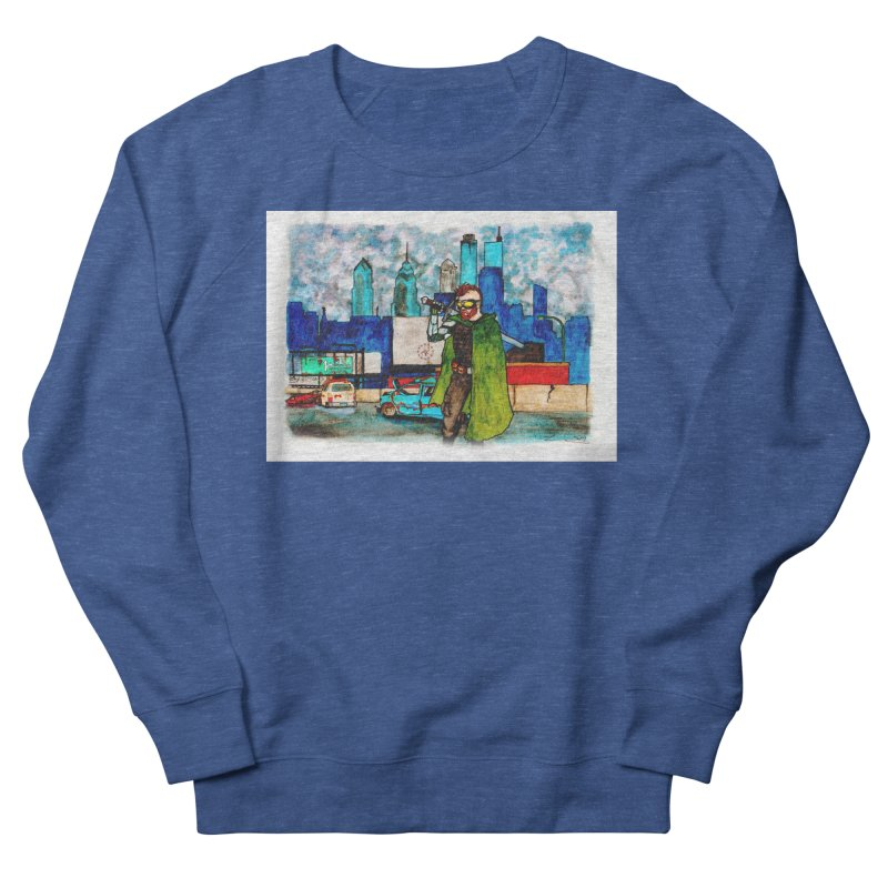 Out for a Stroll Men's Sweatshirt by Christopher Walter's Artist Shop