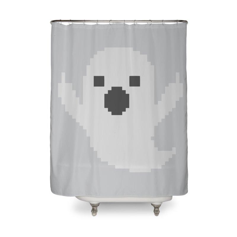 Cowfishdiva Ghost Off Mario 8 Bit Gamers T Shirt Home Shower Curtain