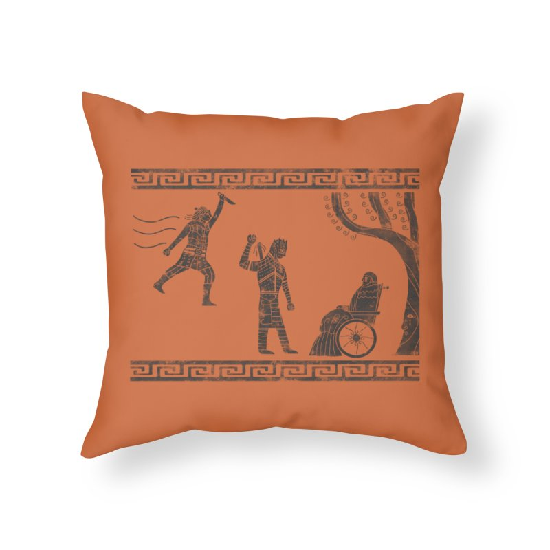 The Tragedy of the Night King Home Throw Pillow by coyotealert